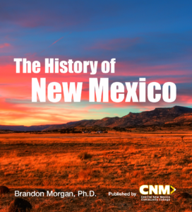 The History of New Mexico book cover