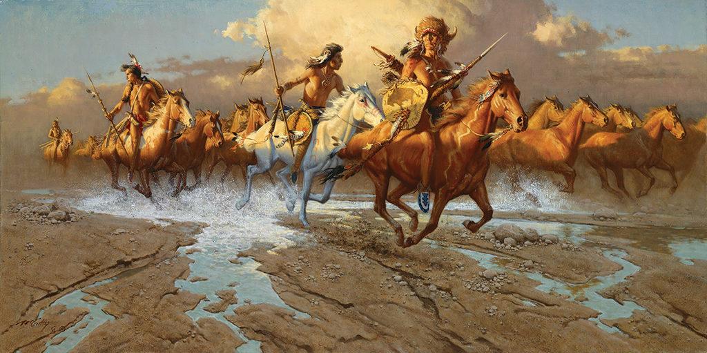 Native peoples along the Santa Fe Trail