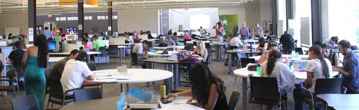ACE tutoring lab, students, school