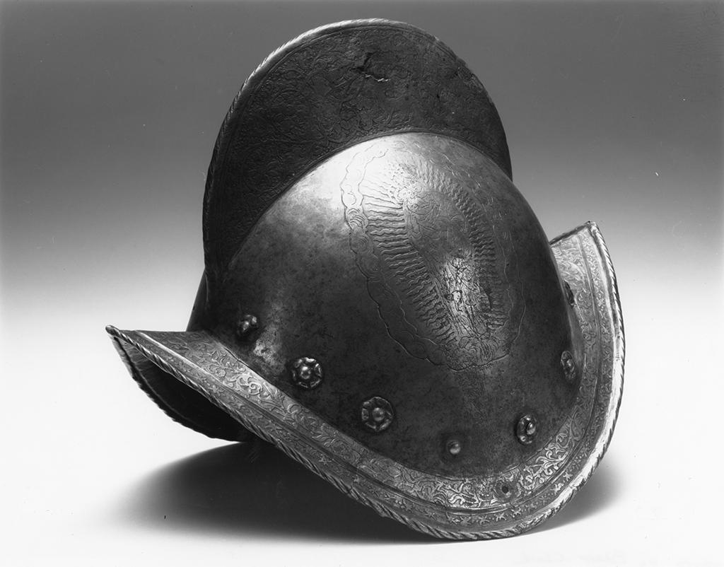 Morion-style helmet