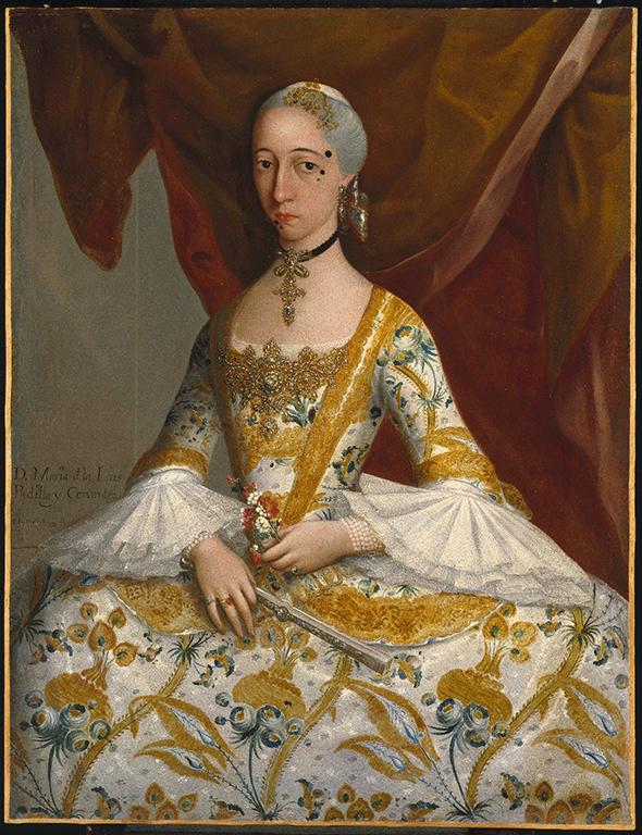 Doña Maria de la Luz Padilla y Gomez de Cervantes