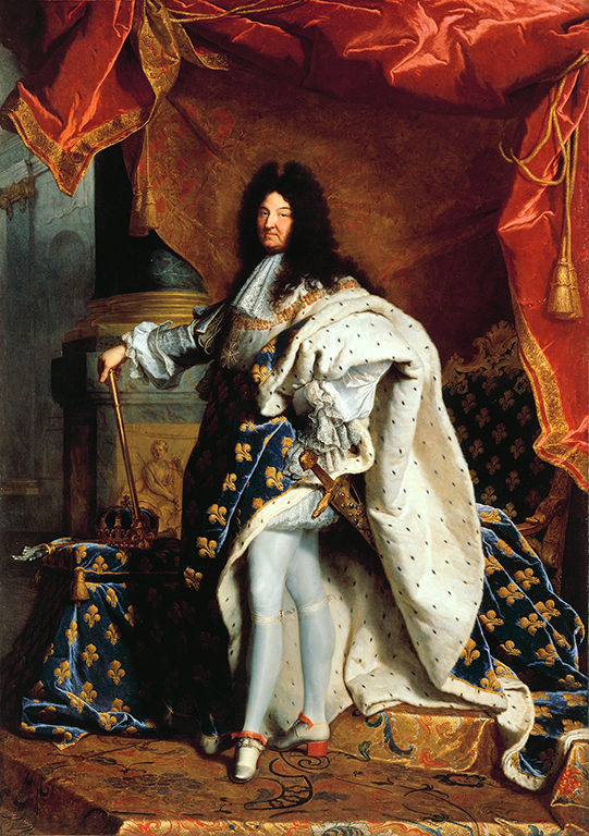 """King Louis XIV (""""the Sun King"""") of France."""