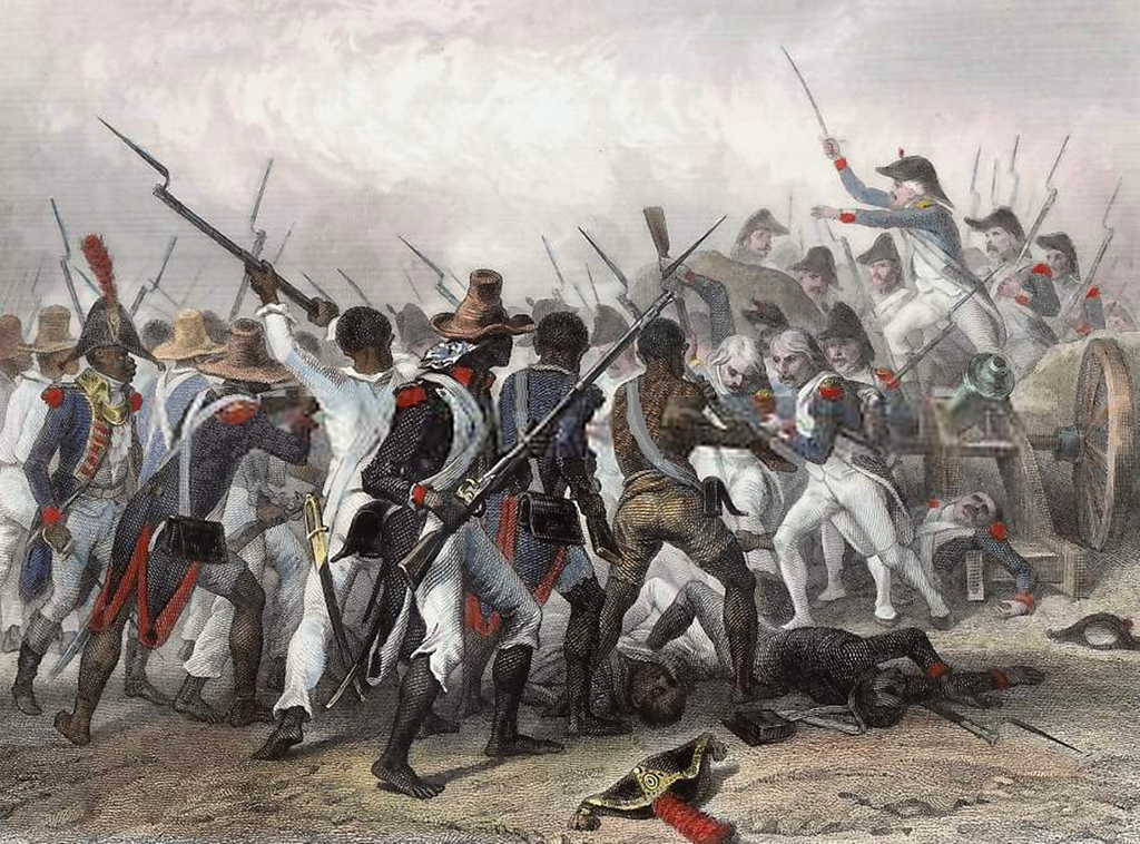 Battle of Vertières during the Haitian Revolution