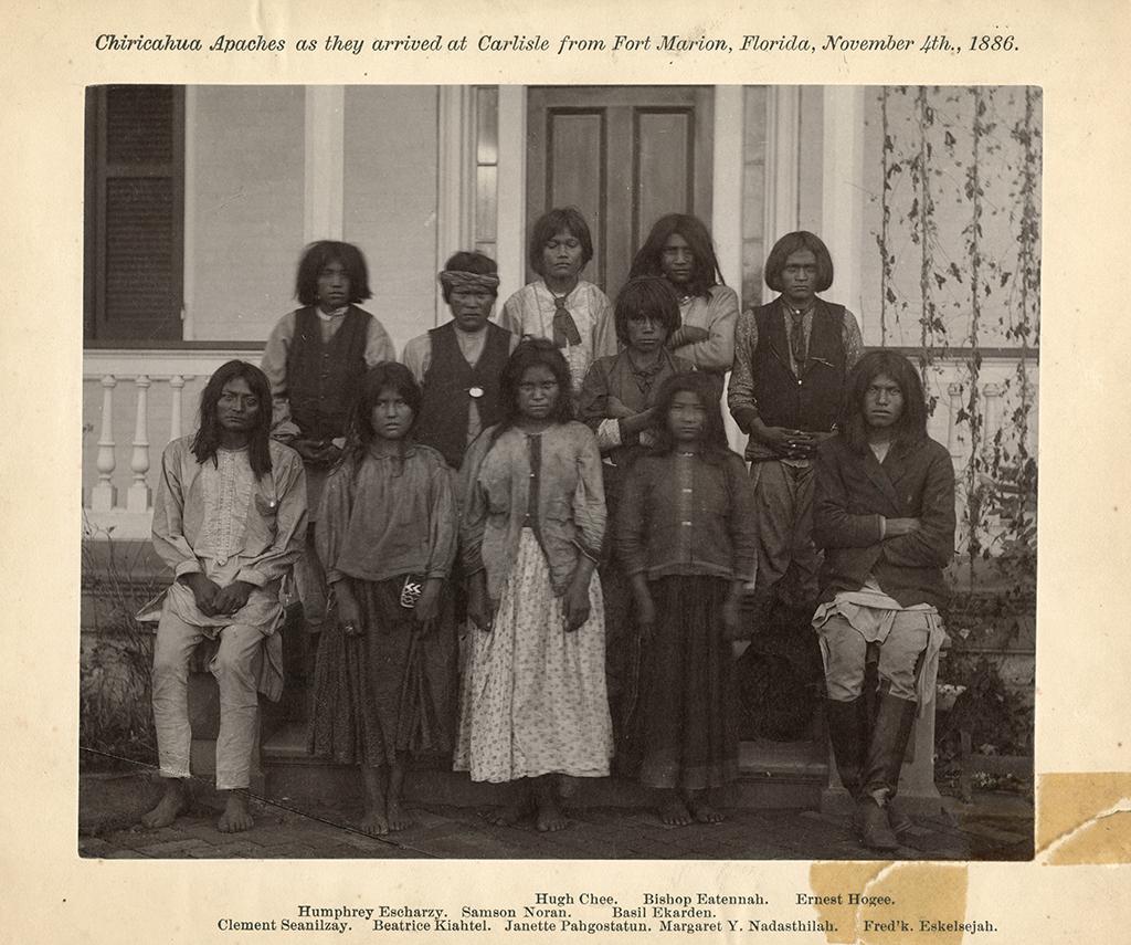 Chiricahua students