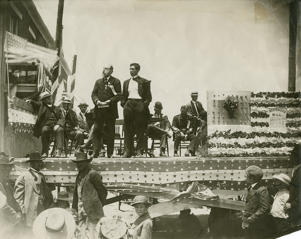 L. Bradford Prince's 1910 speech in Las Vegas, New Mexico, in support of statehood