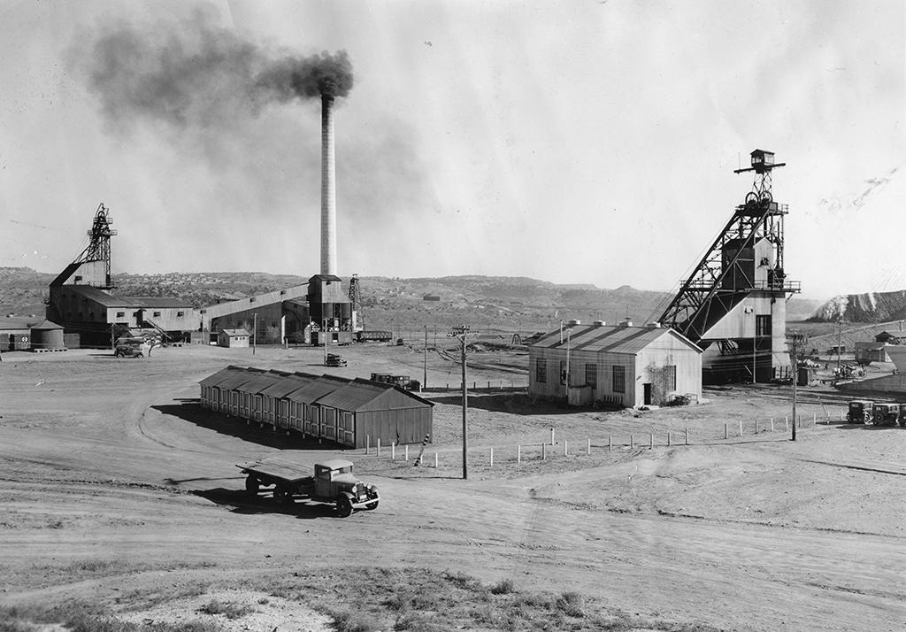American Coal Company facility near Gallup, New Mexico