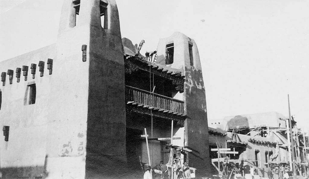 The Museum of Fine Arts in Sante Fe, 1917