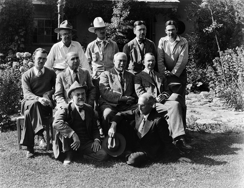Founding members of the Taos Society of Artists, c. 1915