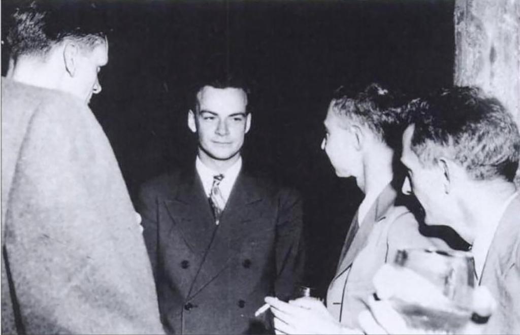 Physicist Richard Feynman