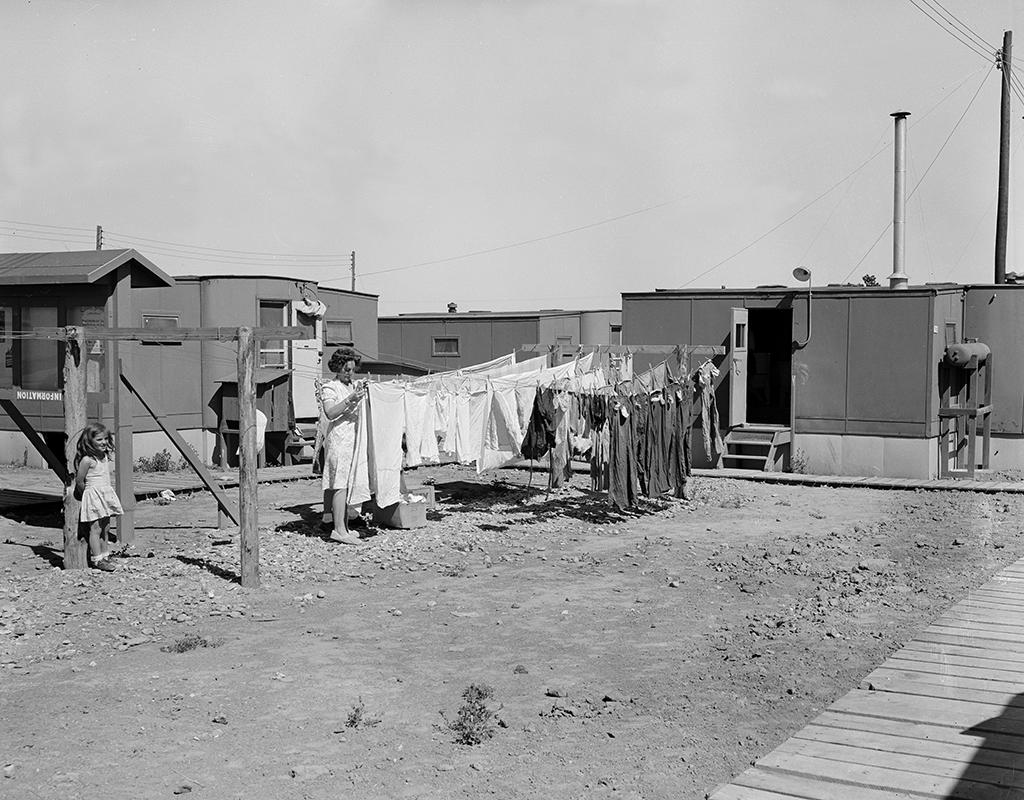 Housing that was initially constructed for the scientists and their families at Site Y