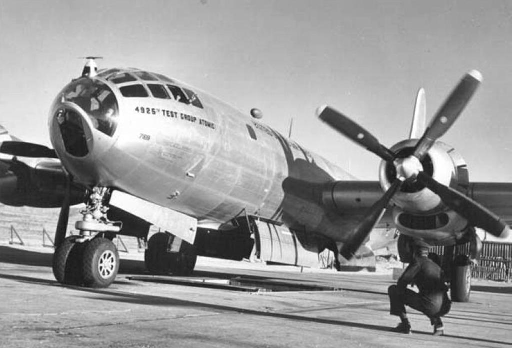Boeing B-50 Superfortress bomber