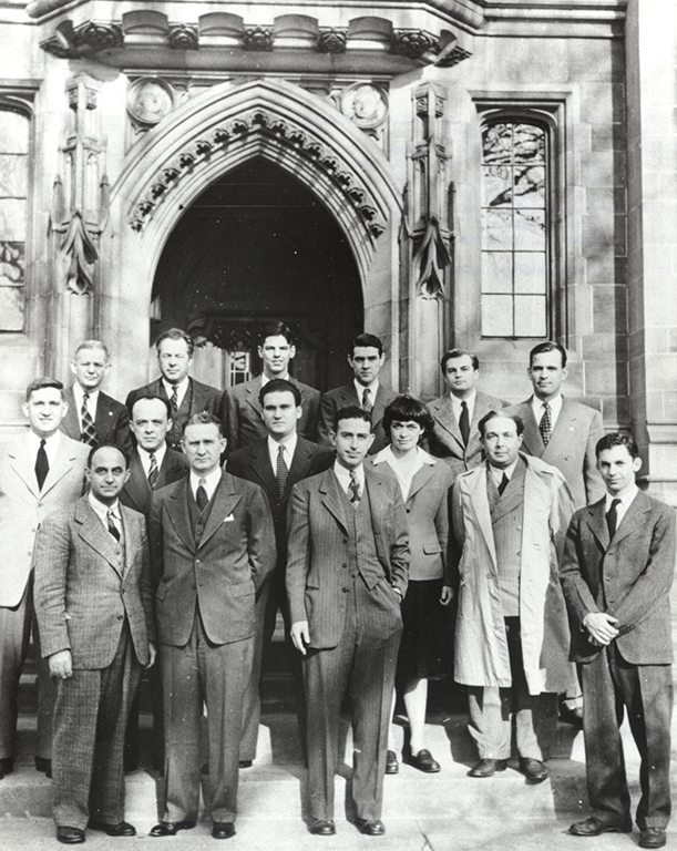 The team of scientists who conducted the Chicago Pile test that produced the first self-sustaining nuclear chain reaction