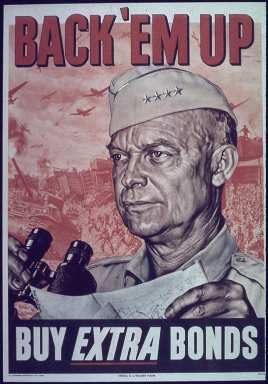 Poster featuring Dwight D. Eisenhower