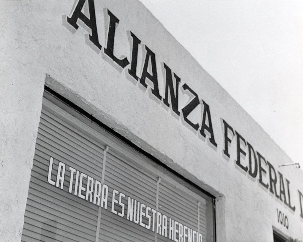 Alianza Federal de Mercedes Libres Headquarters in 1967