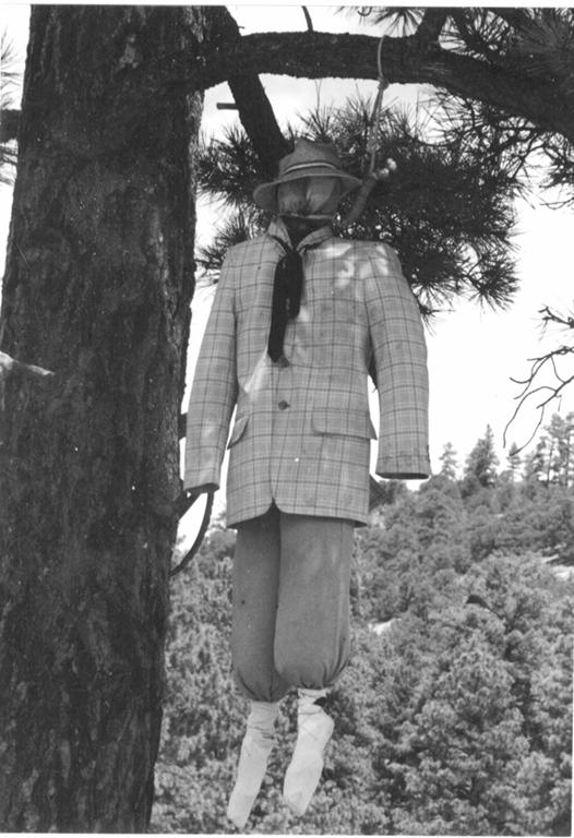 Hanged effigy of Talberth