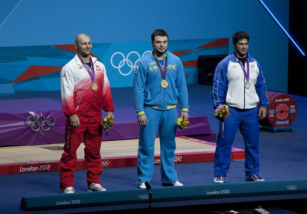Gold, silver, and bronze olympic medalists