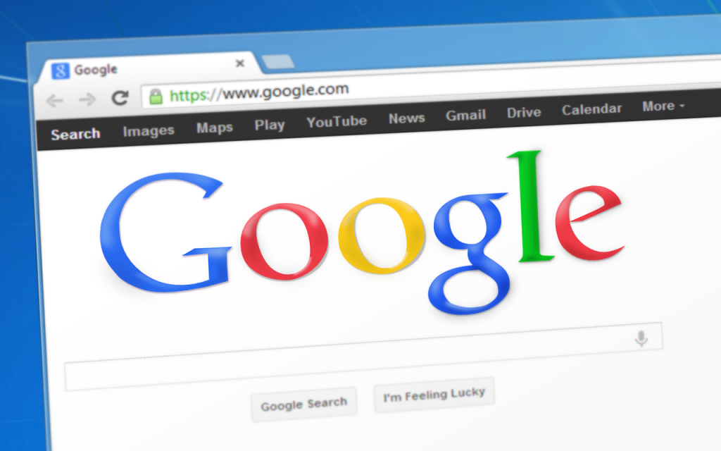 A picture of a Google search bar
